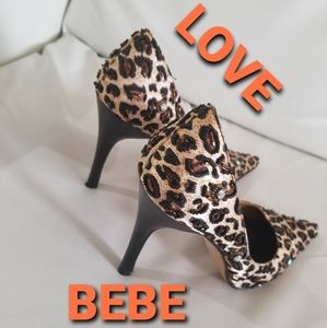Bebe high heels with SWAROVSKI crystals and beads